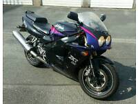 Kawasaki ZXR750 NINJA, L1 MODEL 94 PLATE(PRICE DROPPED NOW TO £800 FOR A QUICK SALE)