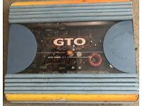 GTO 2000/400W 2/1 channel power amplifier
