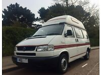 2002 VW T4 AUTOSLEEPER TRIDENT IN SUPERB CONDITION, FULL SERVICE, NEW CAMBELT DISCS AND PADS CHANGED