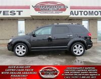 2009 Dodge Journey BLACK R/T 4x4, LEATHER, SUNROOF, DVD & 7 PASS
