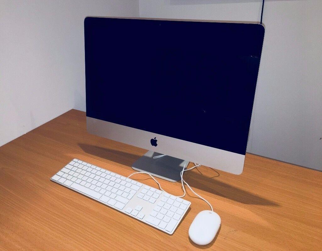 iMac 21.5'' Slim 2012 Model, Core i5 2.7GHz, 8GB RAM, 1TB HDD, Adobe Suite, Photoshop, Illustrator