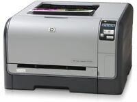 HP Colour LaserJet CP1515n printer - EXCELLENT - hardly used (529 pages total) + spare toners!