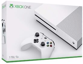 1TB xbox one s console for sale - like new