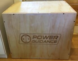 3 in 1 Wood Plyo Box Power Guidance for Cross Training 60x50x45cm Plyometric fit