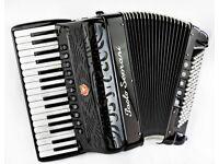 Paolo Soprani - Double Cassotto - 34 / 96 Bass - 4 Voice Musette Piano Accordion