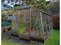 Alton Amateur Cedar Greenhouse 8ft x 13ft