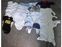 Selection of Boys Clothes Newborn/First Size