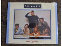 Friends TV Series Calendars. 5 Calandars in total 1997 - 2002 (not 1998)