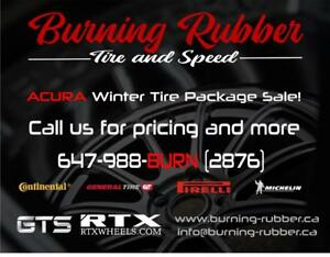 ACURA WINTER TIRE PACKAGE SALE, ALL MAKES AND MODELS