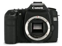 Canon 50D Body Only with manual, charger and batteries