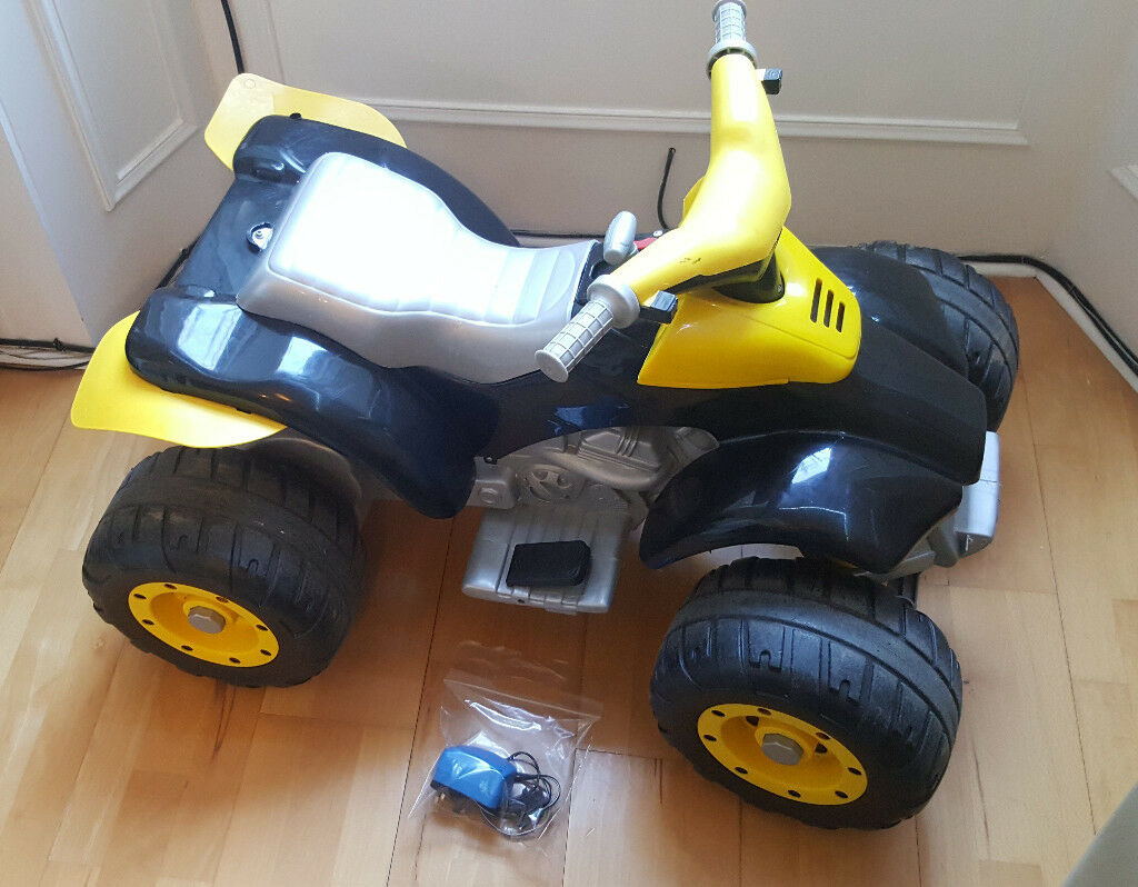 Electric ATV Quad Bike Peg Perego. Electric children's bicycle.Electric Ride-On.BRAND NEW battery12V