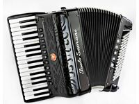 Paolo Soprani Super - Double Cassotto - 34 Keys / 96 Bass - 4 Voice Musette Piano Accordion