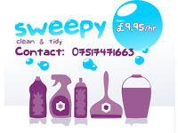 Domestic Cleaning by Professional Cleaners - Sweepy from £9,95 / hrs