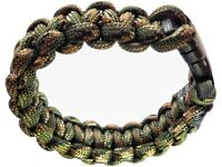 25 Brand New Handmade Paracord Bracelets in many sizes!