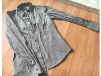 Men's Formal Shirts x 2, Designer Brand Sisley, next to new, Size S, from Italy