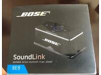 Bose BE8 Soundlink Portable Wireless Bluetooth Speaker (boxed)