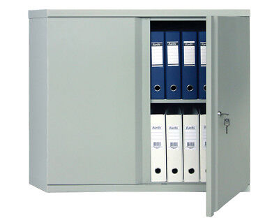 2 Shelf Safe Box M-08 Solid Steel Construction With Key And 2 Door Lock