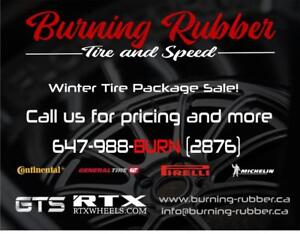 BMW WINTER TIRE PACKAGE SALE, ALL MAKES AND MODELS