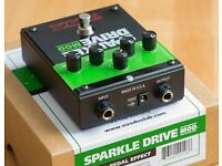 Voodoo Lab Sparkle Drive MOD Overdrive/Distortion Guitar Effects Pedal