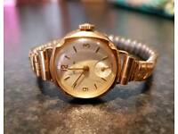 18 carat gold and 9 carat gold vintage ladies watches