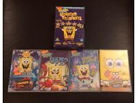SpongeBob Square Pants Limited Edition DVD Box Set & two more DVDs