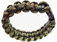 25 brand-new Handmade Paracord Bracelets in many sizes!