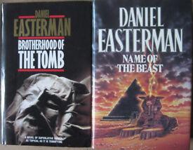 Daniel Easterman hardback books