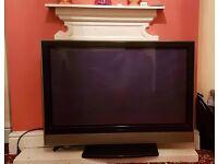 "Hitachi 42"" colour TV"