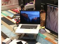 "APPLE MACBOOK PRO RETINA 15.4"" i7/16GB RAM/512GB SSD (3 MONTH OLD)"