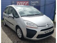 2007 (57 reg), Citroen C4 Picasso 1.8 i SX 5dr MPV, AA COVER & AU WARRANTY INCLUDED, £2,195 ono