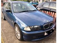 BMW 318 WITH PIRVATE PLATE