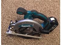 Makita DSS610 circular saw