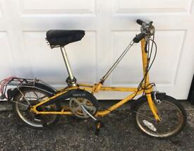 Dahon Vintage fold bike BARN FIND!!