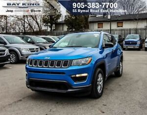 2018 Jeep Compass SPORT, REMOTE START, BACKUP CAM, BLUETOOTH, TI