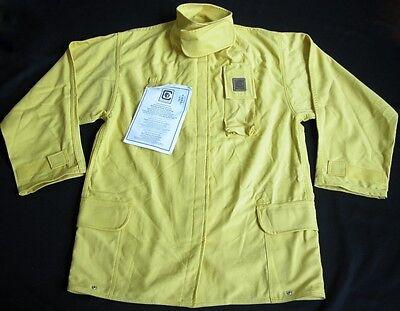 New Nwt Fire-dex Chieftain Wildland Fire-fighting Apparel Jacket Yellow Mens M