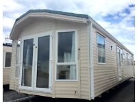 Stunning Willerby Winchester 3 bedroom static caravan with Sea Views Windsor Holiday Park Groomsport