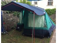 Lichfield Challenger Royale Tent. 5 berth with sun awning.
