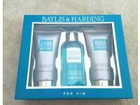 Baylis & Harding 3 piece gift set - brand new boxed