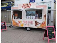 Catering trailer Ice Cream