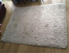 Large real wool rug