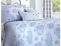 Beautiful king size bed linen