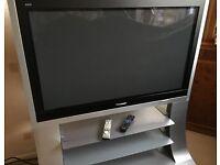 "42"" Panasonic plasma HD TV & stand"
