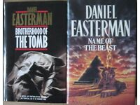 Daniel Easterman hardback books