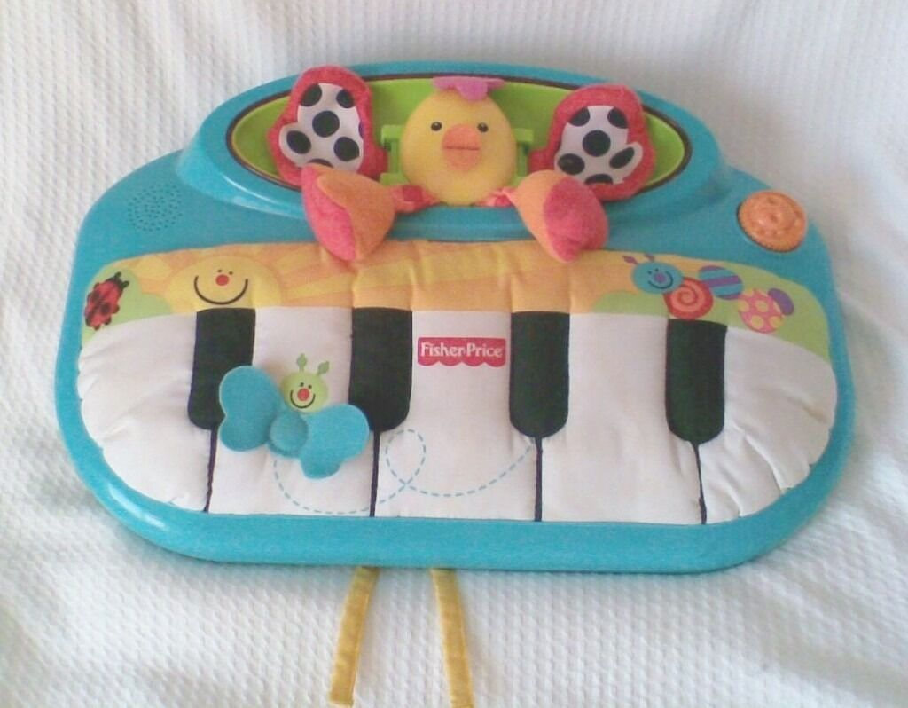 K A Boo Babies Piano Cot Toy By Fisher Price Vgc