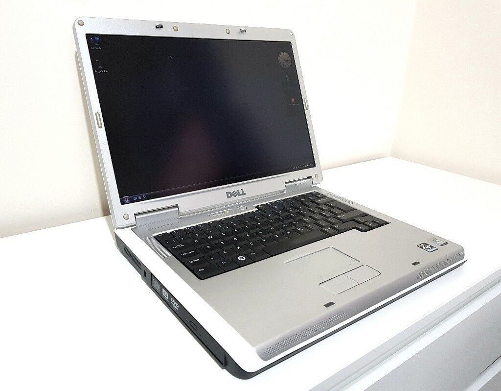 Laptop Dell Inspiron 1501 15 AMD CPU 200GB HDD 2GB RAM