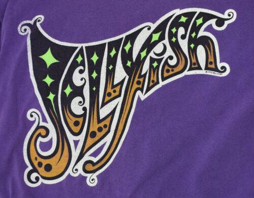 Jellyfish Spilt Milk ULTRA RARE Vintage Concert T-shirt 1993 Size XL Purple Logo