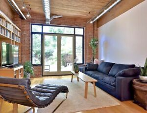 Beautiful 2 bedroom loft