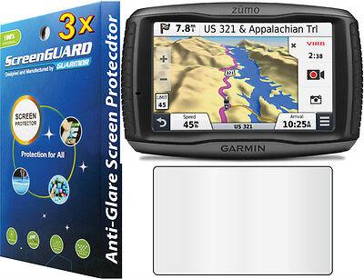 3X Anti Glare Matte Lcd Screen Protector Garmin Zumo 590 590Lm 595 595Lm Gps