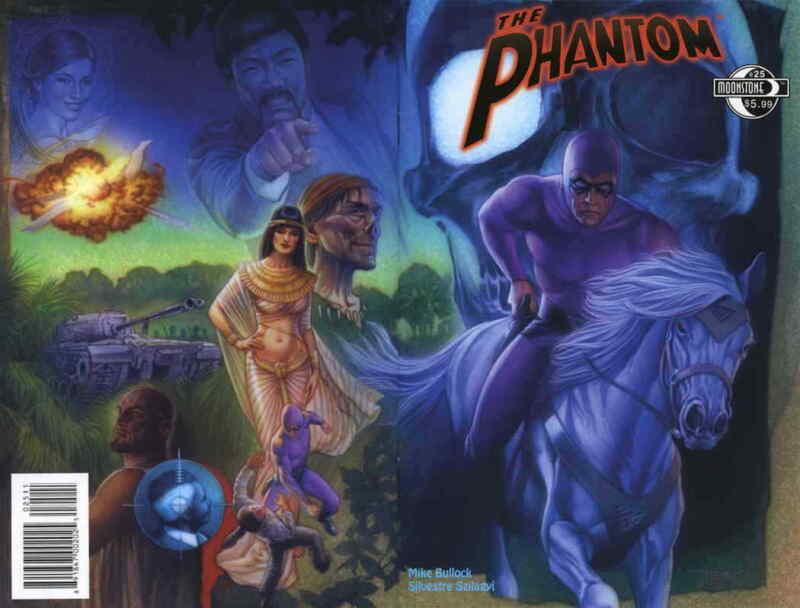 Phantom, The (5th Series) #25 VF/NM; Moonstone | save on shipping - details insi