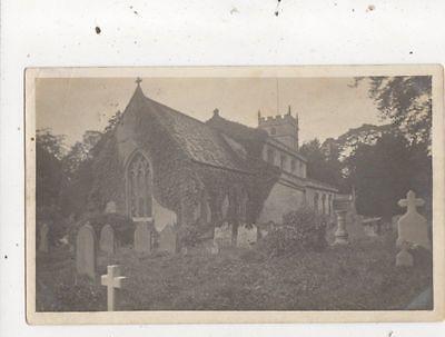 Great Barrington Church Gloucestershire 1903 RP Postcard 770a
